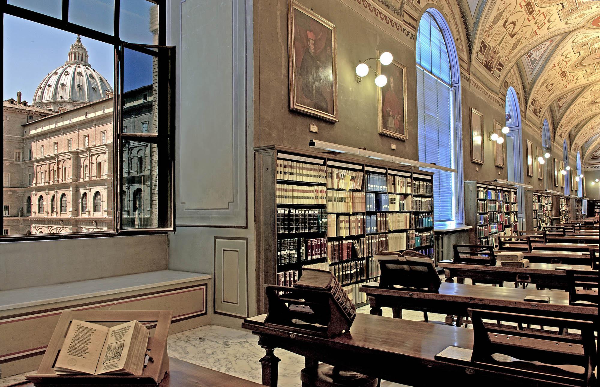 Bibliotheek_Vaticaan