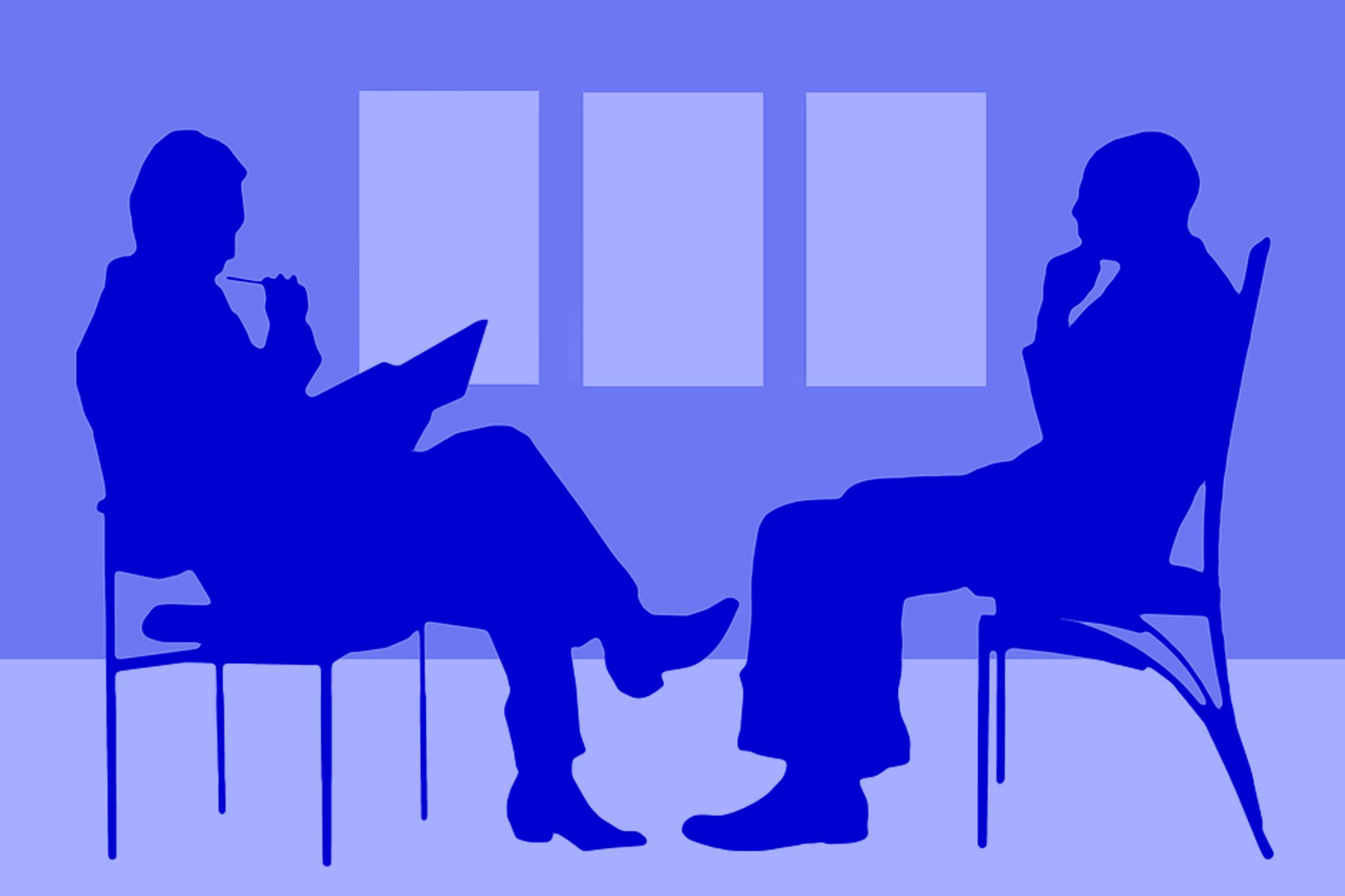 In gesprek
