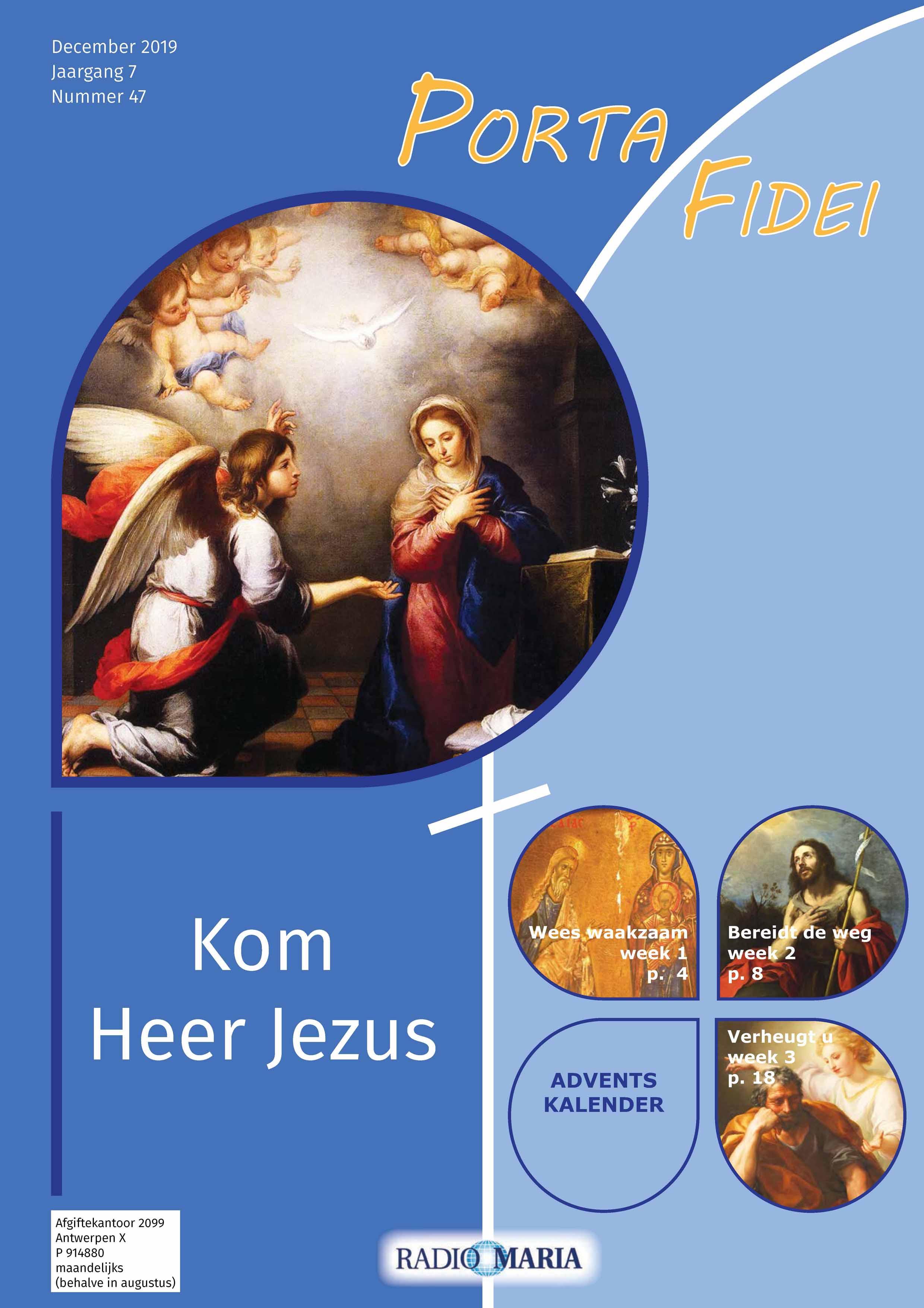 Porta Fidei 47 cover