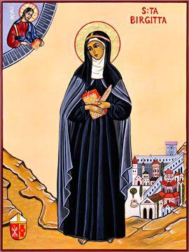 Heilige Brigitta Pederson