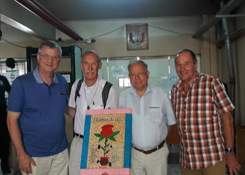 Michel Coppin en Mgr. Bonny in Venezuela