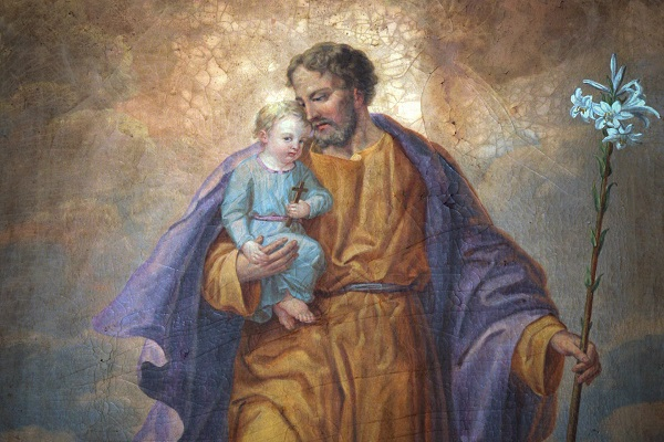 Sint Jozef met kind