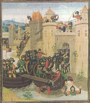 Beleg van Doornik 1340