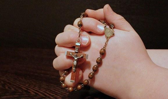 Rozenkrans bidden