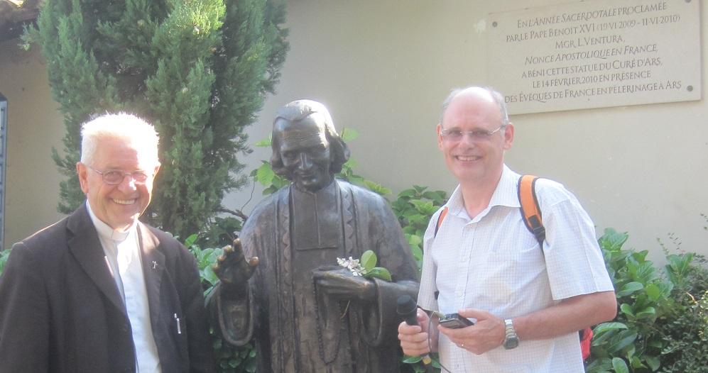 Pater Marijsse en Jos