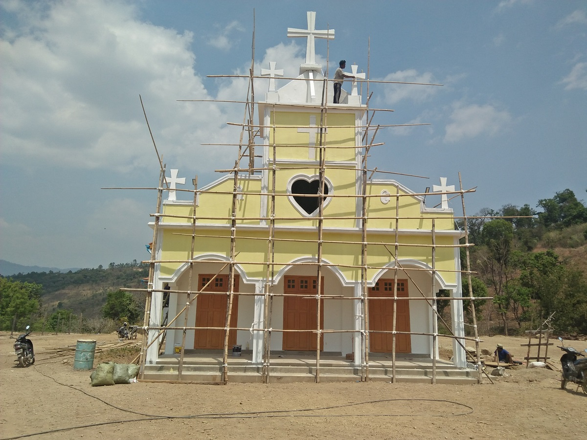 Construction of a new church at M'Dap Parish – additional help