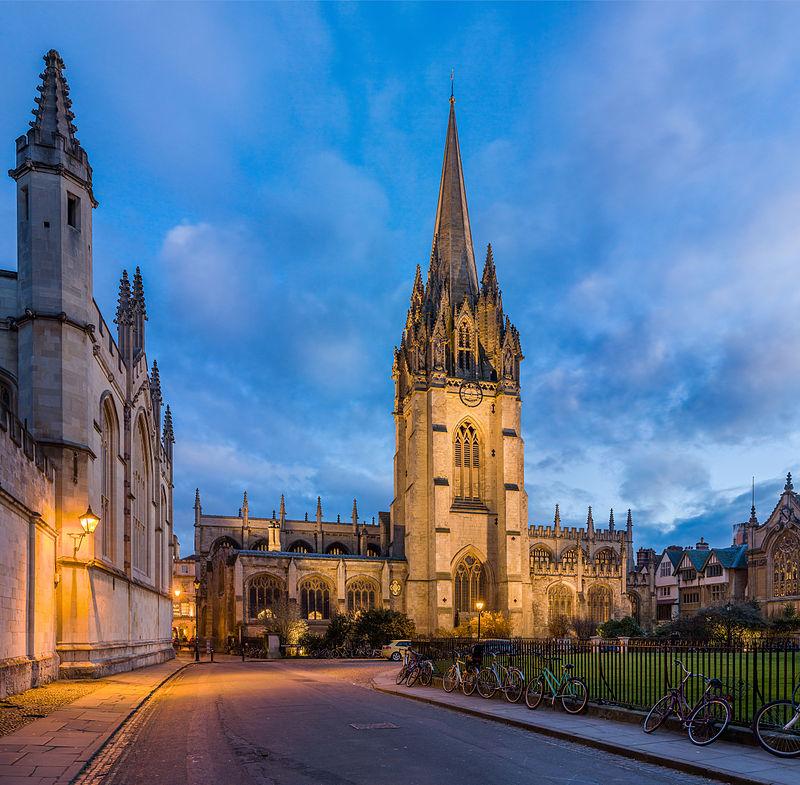 St Mary's Church Oxford
