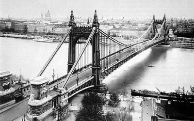 Elisabethbrug in Budapest