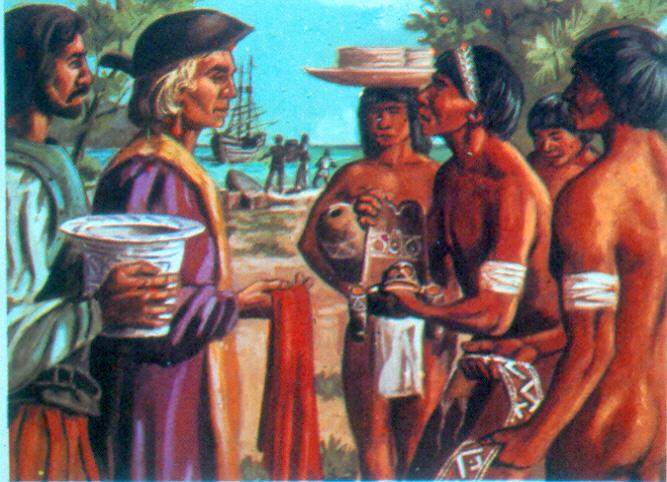 De Taino- indianen
