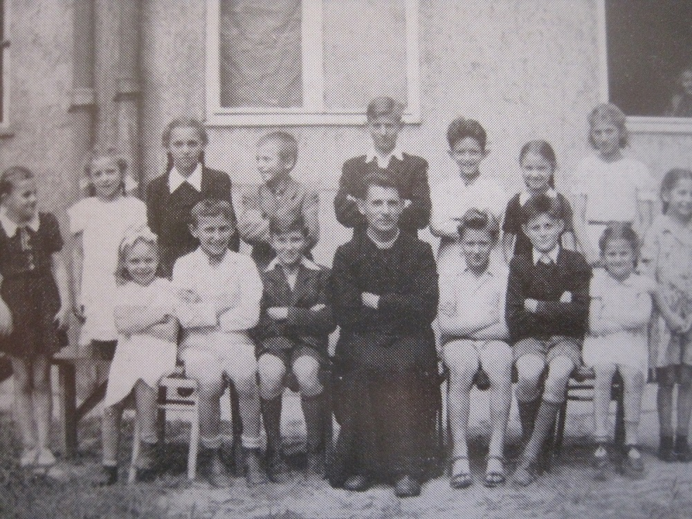 Arendjongskens in 1945 in Pest-St. Elisabeth