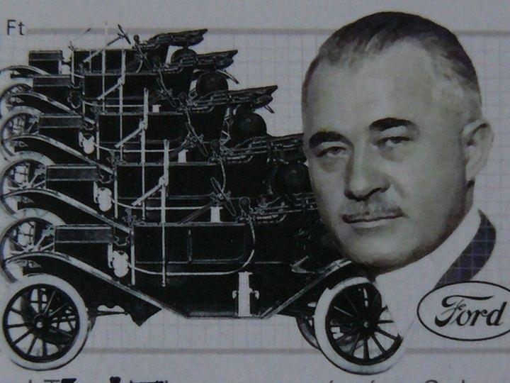 Jozef Galamb en zijn Ford T