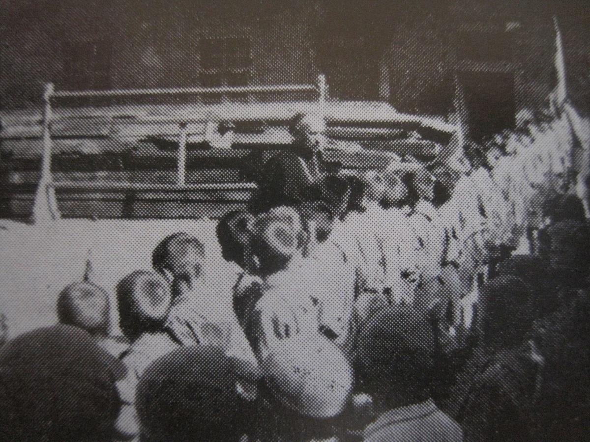 Kardinaal Mindszenty op bezoek in 1948