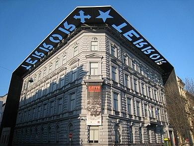 Terrorhaus in de Andrassysstraat