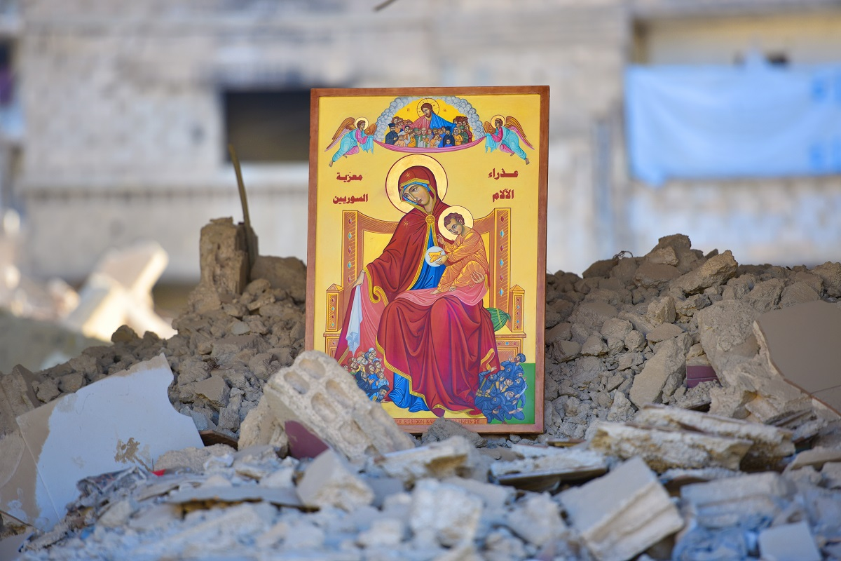 Prayer to the Our Lady of Sorrows in Eastern Ghouta 2019
