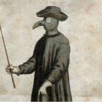 Een arts tijdens een pestepidemie in 1720