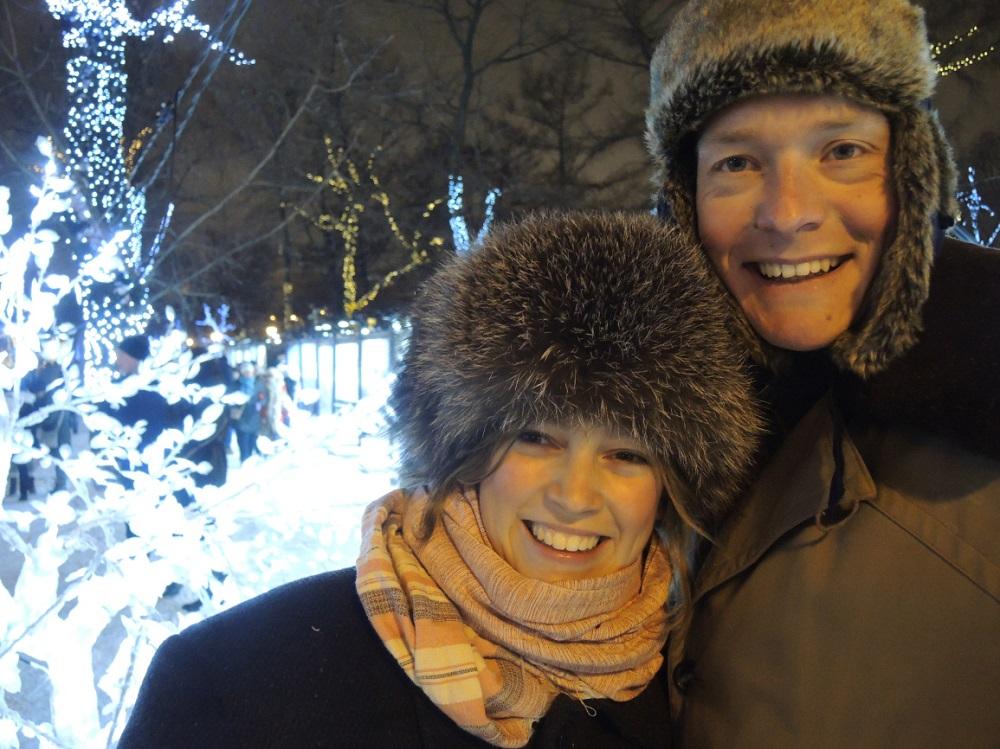 In het koude Moscou