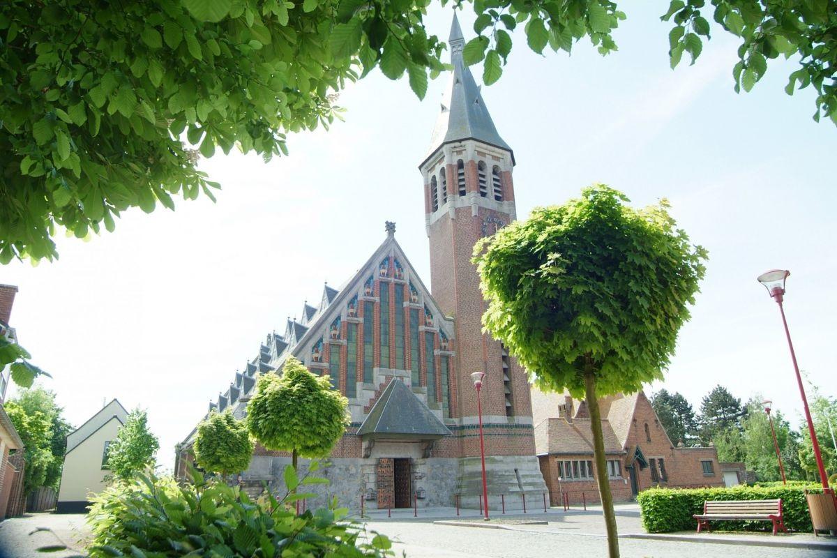 Kerk van Saint Aybert in Bléharie