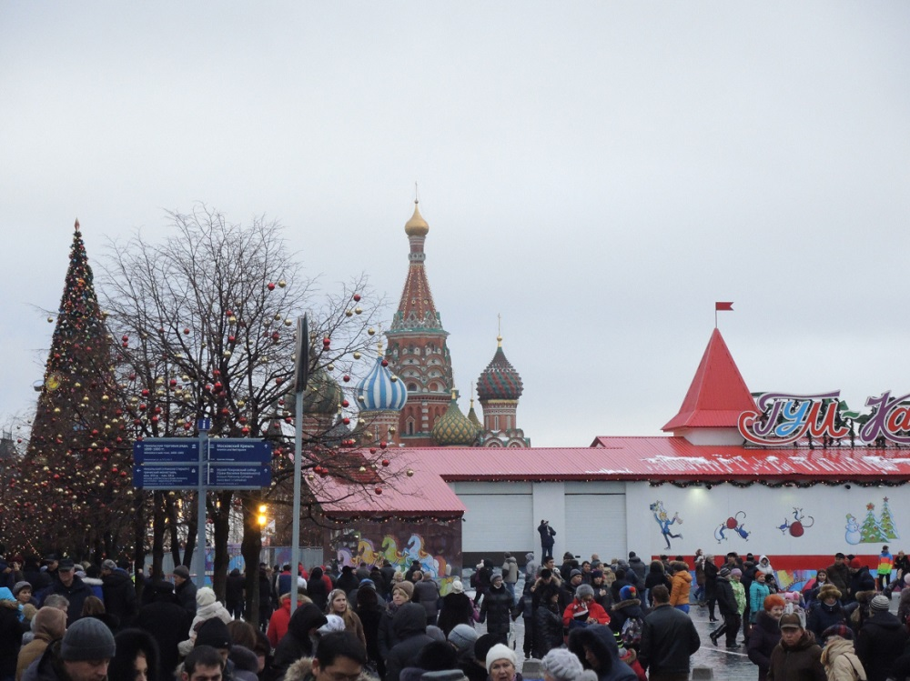Kerstmarkt op het Rode Plein