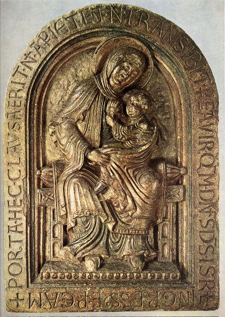 Mariabeeld van Dom Rupert
