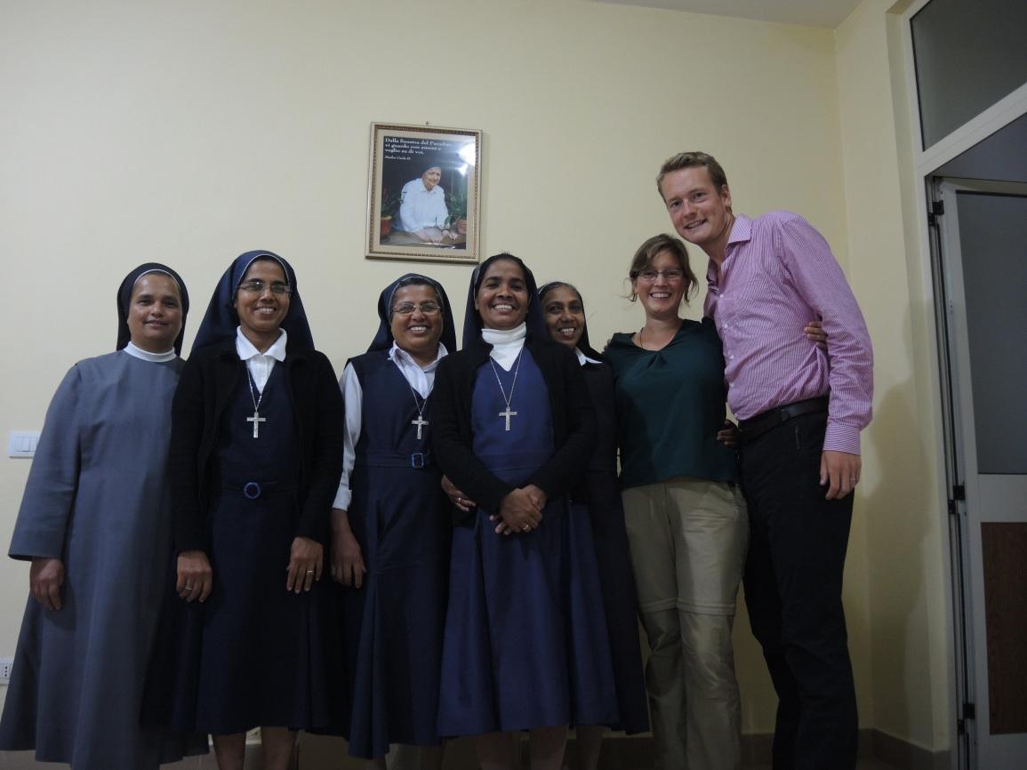 Met de zusters in Albanië