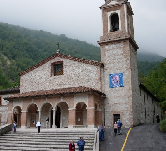 Montefortino Santuario della Madonna dell'Ambro