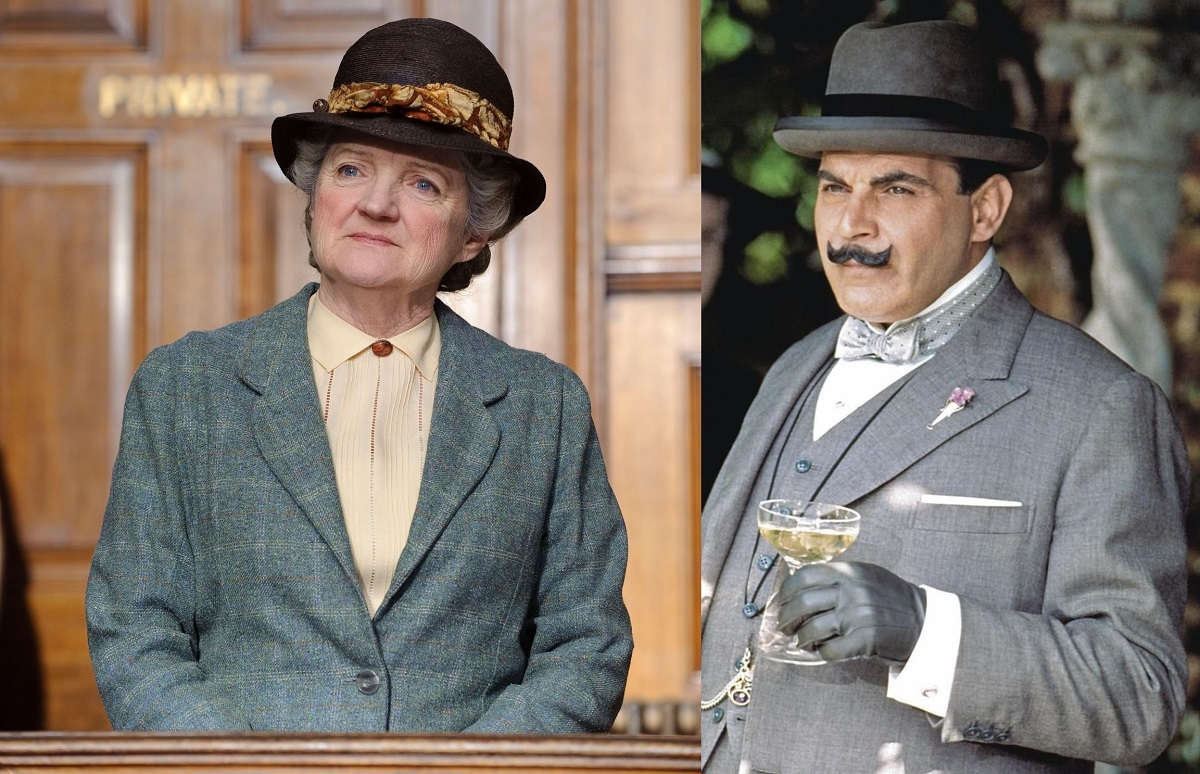 Mrs Marble & Hercule Poirot