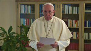 Paus Franciscus spreekt VN toe