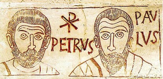 HH. Petrus en Paulus