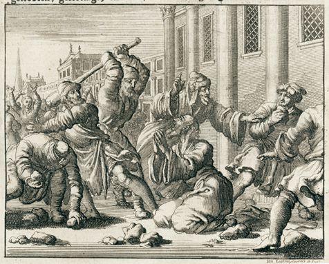 Marteldood van Jakobus eerste bisschop van Jeruzalem