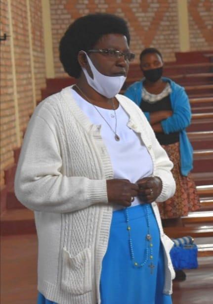 Nathalie, zienster van de verschijningen in Kibeho