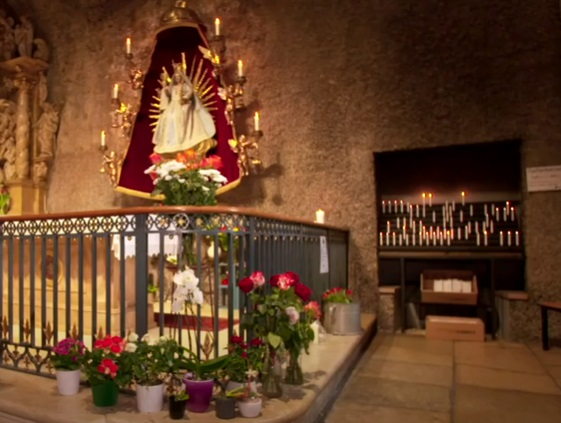Genadebeeld in Mariastein