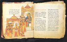 Koptisch boek De wonderen van Maria