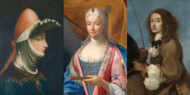 Mathilde van Toscane & Marie-Clementine Sobieska & Christina van Zweden