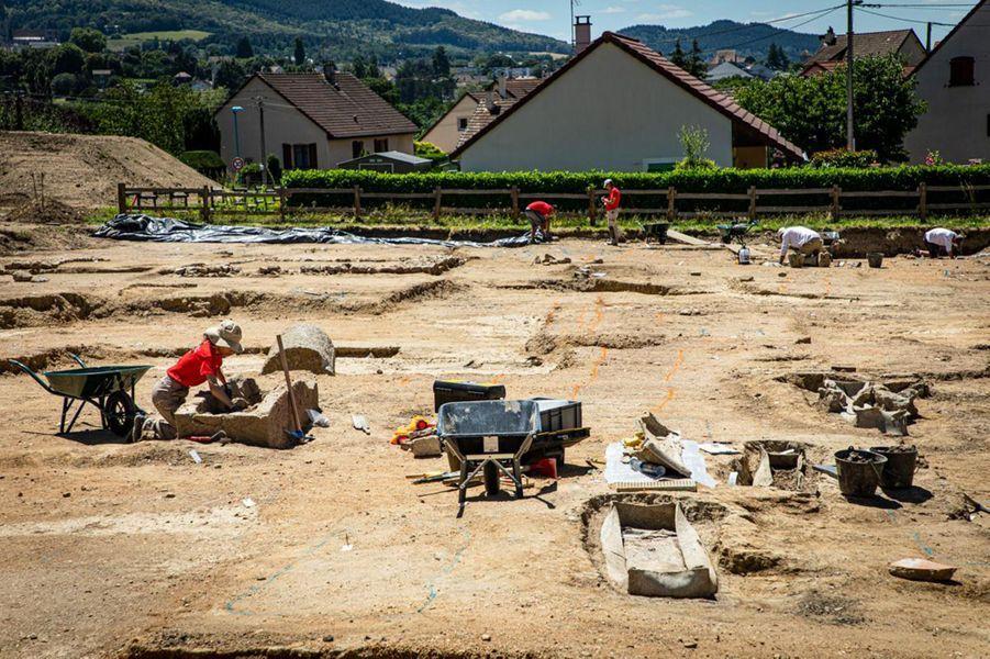 Opgravingen in Autun