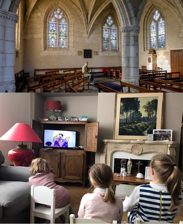 Lege kerken en kleine huiskerken