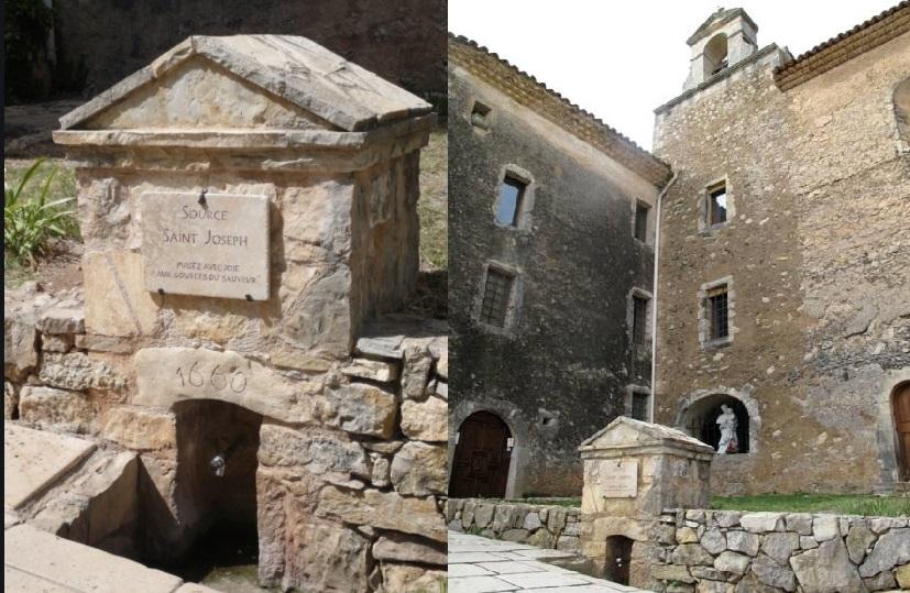 Sint Jozef Heiligdom in Cotignac