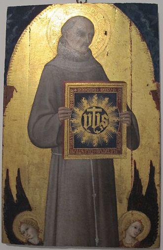 H. Bernardinus van Siena