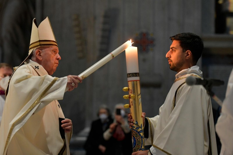 Paaswake Paus Franciscus