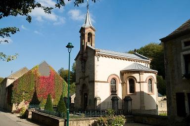 Kapel bij de abdij van Clairefontaine