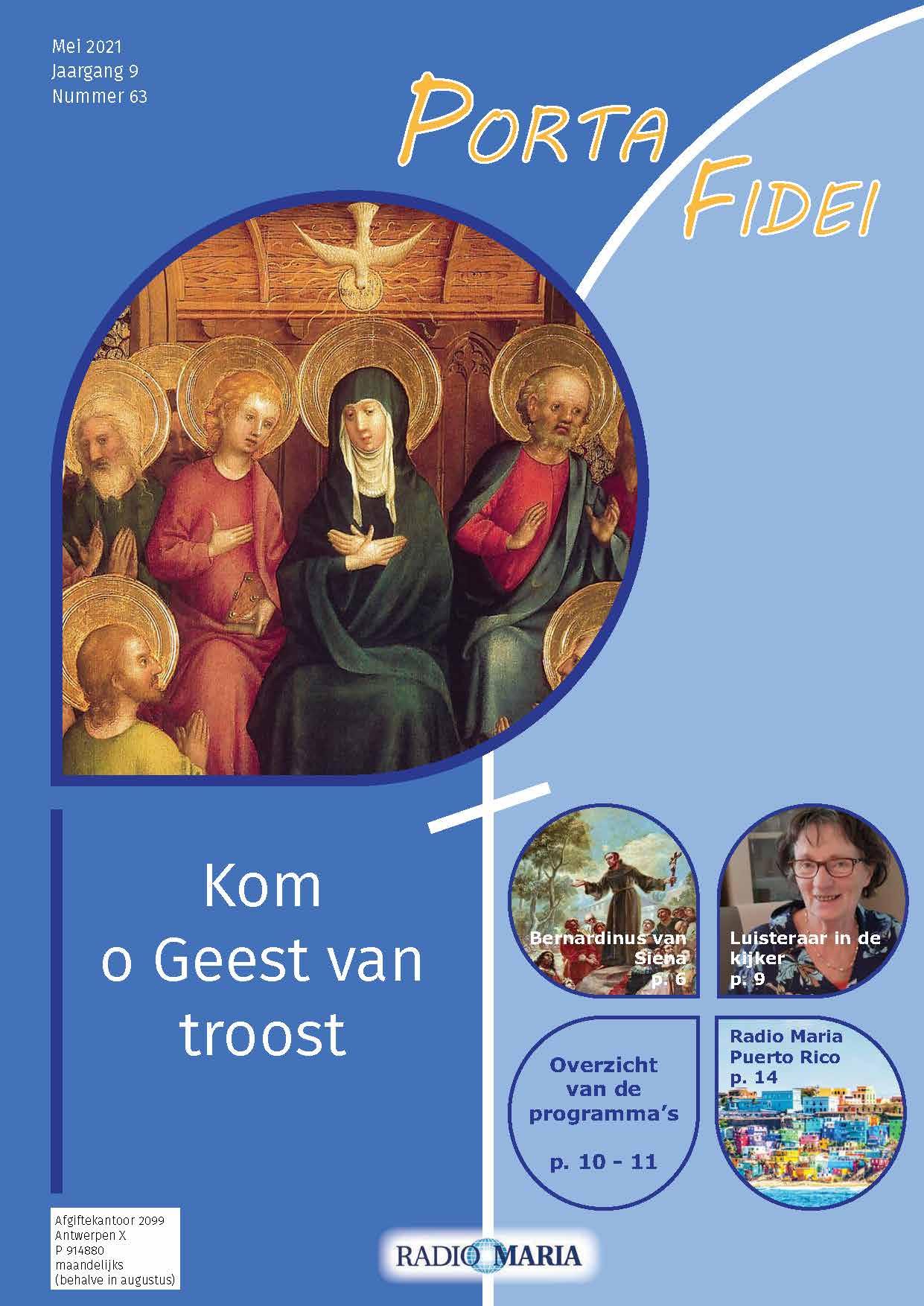 Cover Portafidei 63