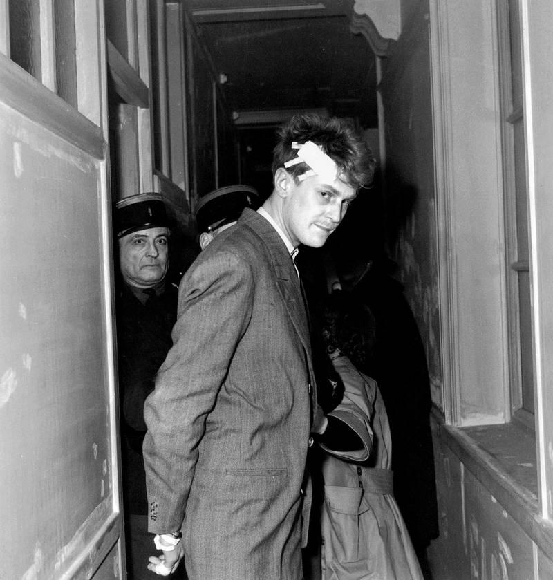 Jacques Fesch bij zijn arrestatie