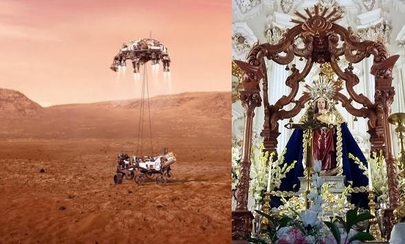 De Perseverance op Mars & Nuestra Señora de Flores