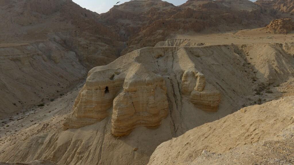 Grotten met manuscripten in Nahal Hever