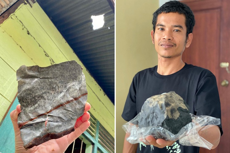 Joshua Hutagalung & de meteoriet