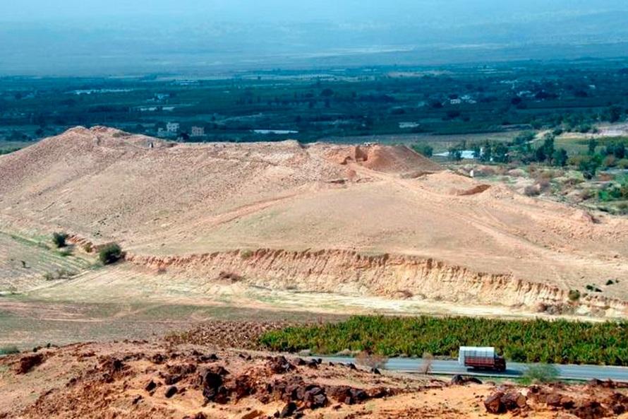 Site Tall El Hamma