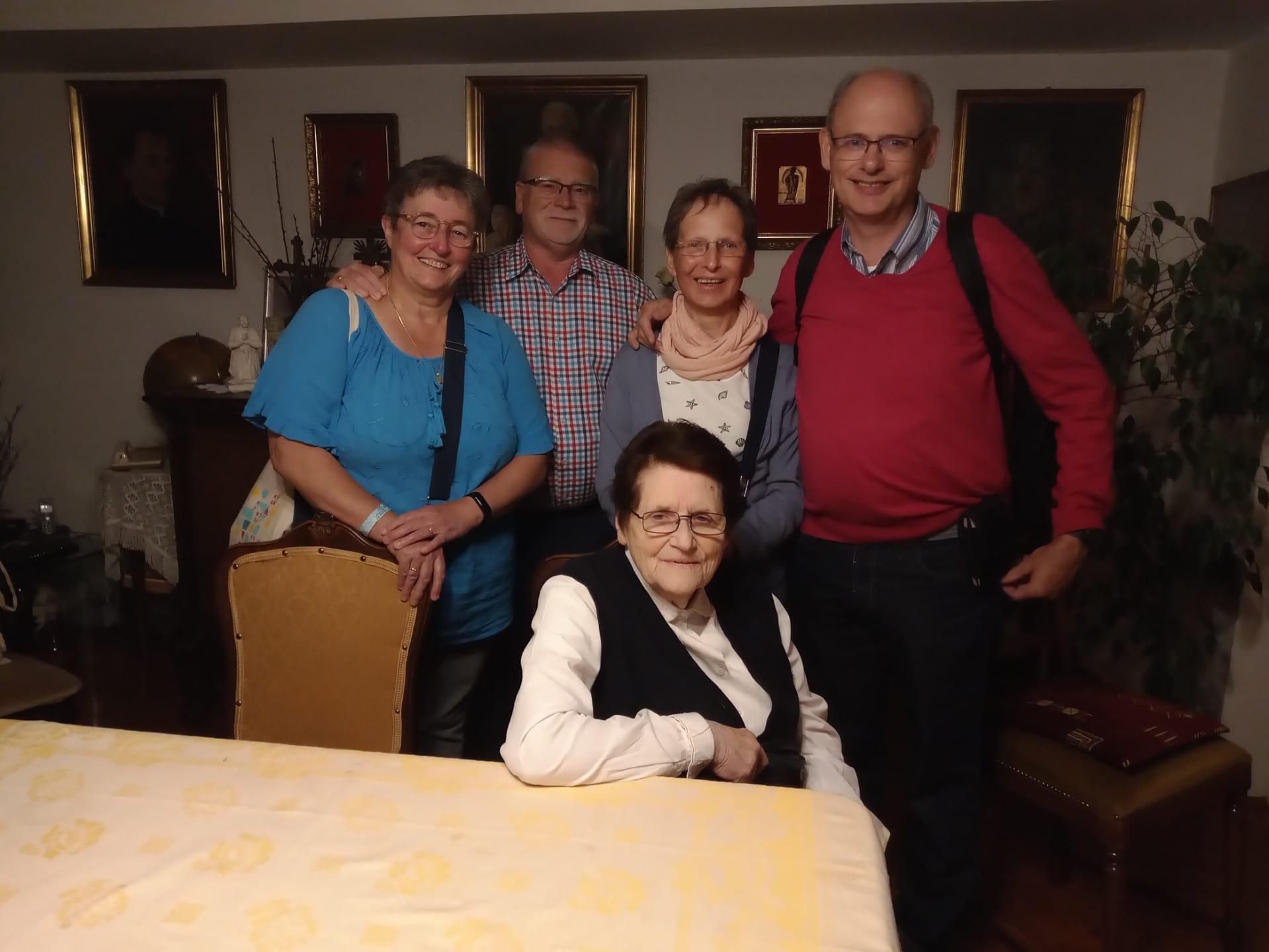 Ontmoeting met zuster Bea Vandenborre fso